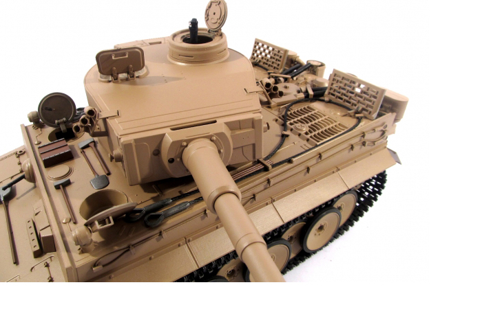 Mato Toys Full Metal Remote Control Tank, Mato 1220-Y 1/16 Scale Tiger 1 RC Model Tank.