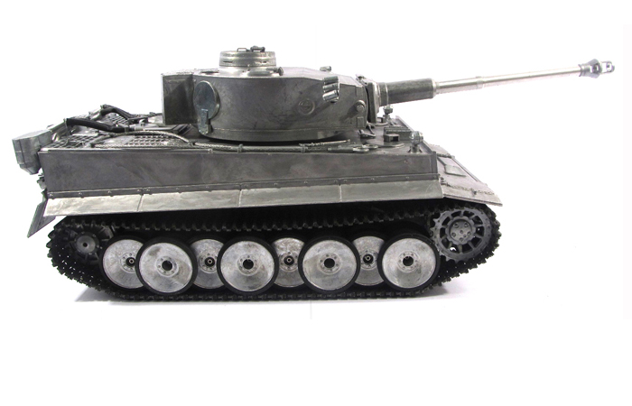 Mato Toys Full Metal Remote Control Tank, Mato 1220-Y 1/16 Scale Tiger 1 RC Model Tank.