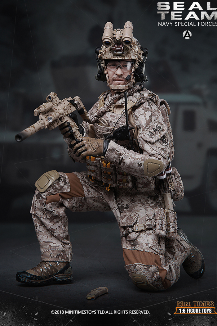 MINI TIMES Toys MT-M012 12 Inch Figure Scale Model US Navy Special Forces Seal Team.
