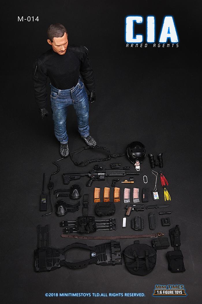 MINI TIMES Toys MT-M014 12 Inch Figure Scale Model MINI TIMES TOYS MT-M014 CIA Armed Agent.