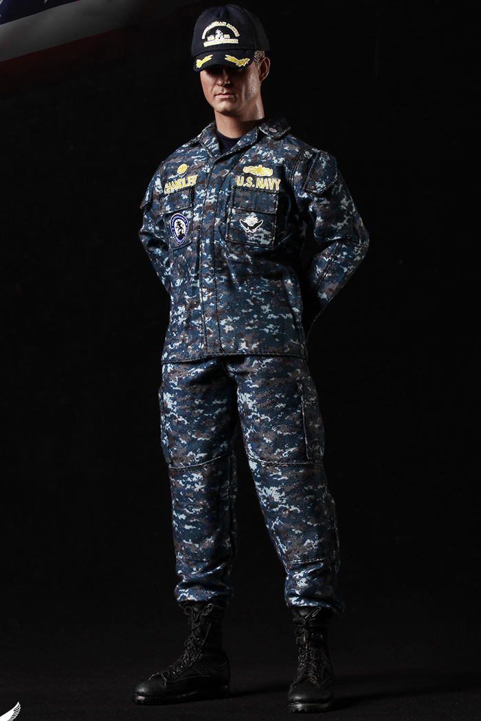 MINI TIMES Toys MT-M007 12 Inch Figure Scale Model US NAVY Navy Armageddon Chandler The Last Ship.