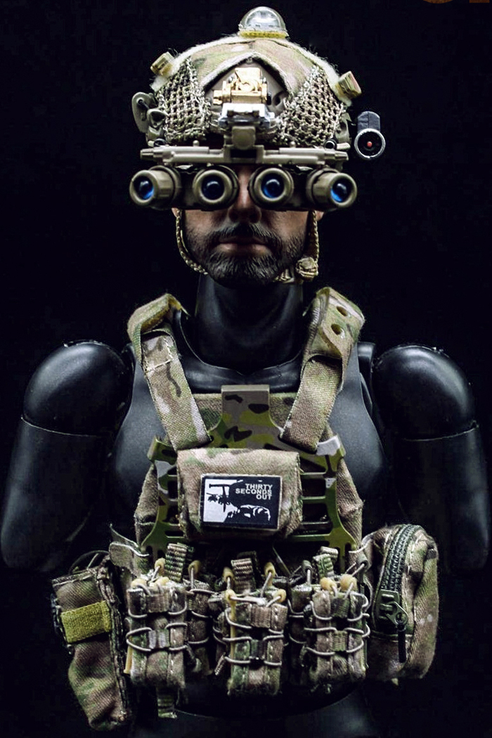 MINI TIMES Toys MT-M009 12 Inch Figure Scale Model US Navy Seal Team Six Soldier Male Action Army Figure Model.
