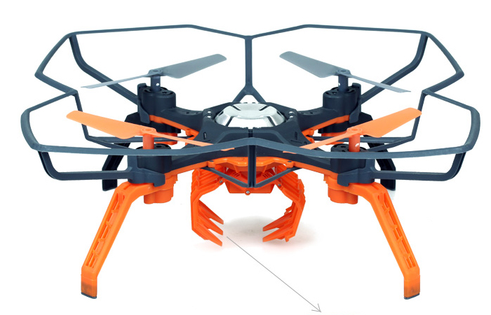 Silverlit Toys 84785 POWER IN AIR, SPECIAL FEATURES Four-axis Rc Aircraft, DRONE GRIPPER.