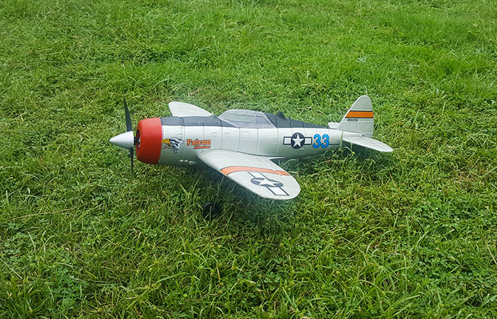 World War II United States Army Air Forces (USAAF) P-47 Thunderbolt Fighters Mini RC Aircraft.
