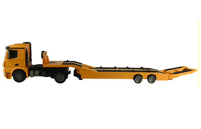 Large Size RC Mercedes-Benz Arocs Flatbed Trailer Truck, Toy Car,  Truck Trailer Scale Model.