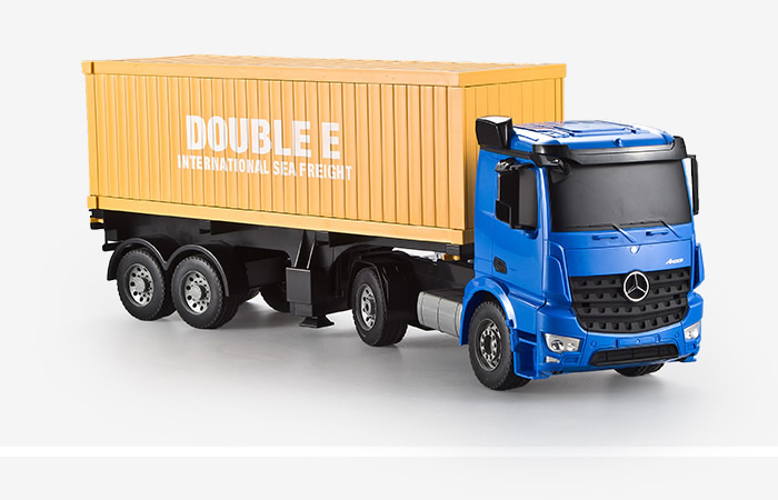 Large Size RC Mercedes-Benz Arocs Container Truck, Toy Car,  Truck Trailer Scale Model.