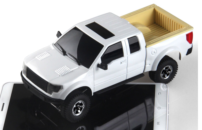 4WD Off-Road Pickup Truck Rock Climbing Remote Control Car, Orlandoo-Hunter OH35P01 Kit.