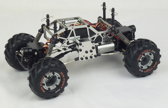 RTR HBX 2098B 4WD/4WS Electric Powered RC Rock Craler, 4WD RC Climber Truck.