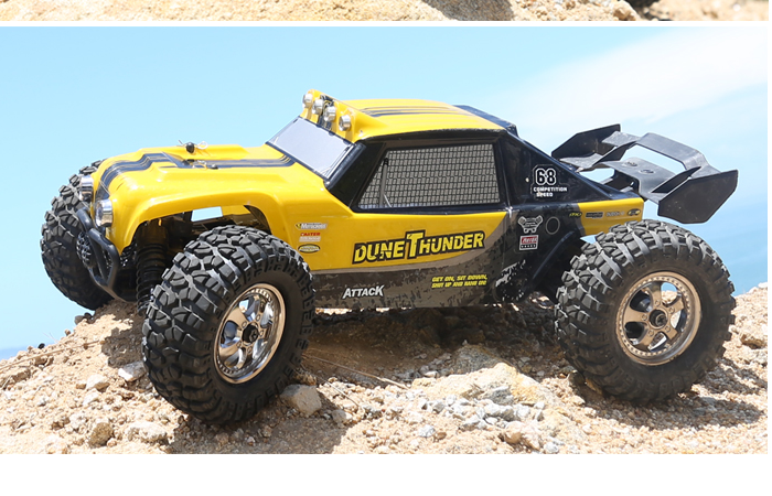 HBX 12891 Dune Thunder 2.4GHz Radio Remote Control Desert Truck, 4WD Off-Road.