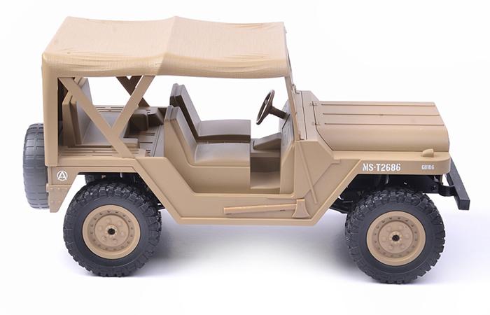 Heng-Long Toys 3840,  SUBOTECH BG1522,  RTR RC Off-Road M151 4WD Climbing Car.