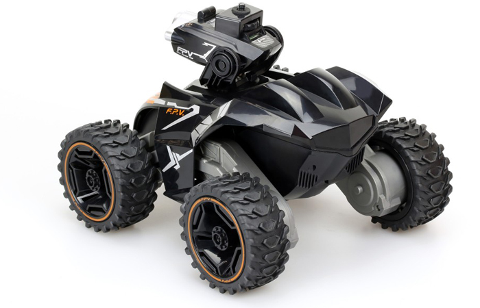 Silverlit Toys 82419 POWER IN SPEED, 2.4G SPY ROVER FPV RC Car, Video Camera 4WD off-road Vehicle.
