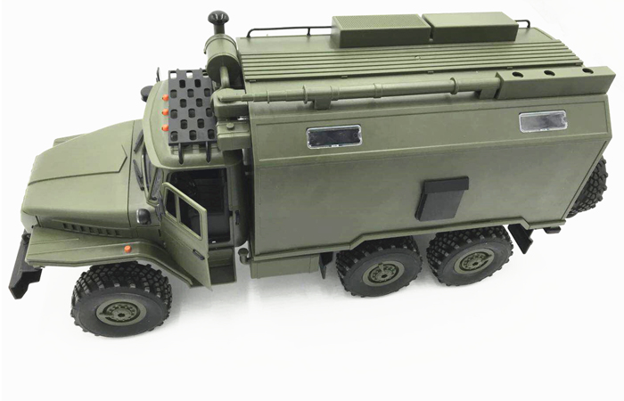 2.4GHz Radio Remote Control Russian Military Vehicle, 6 X 6 RC Ural 4320 Scale Model.