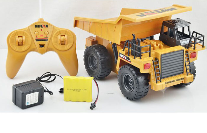 RC Dump Truck Toy Model, Construction vehicles Toy, 2.4Ghz Radio remote control Electric Toy, indoor outdoor toy