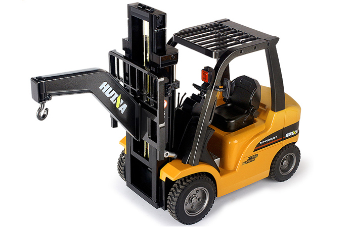 RC Forklift Toy & Flatbed Trailer Toy, Engineering Machinery toys, Construction Machinery Toys, Christmas toy.