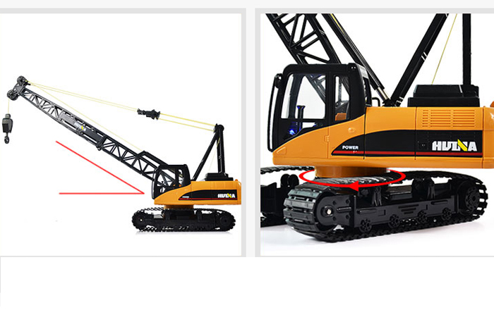 RC Crawler Crane Toy, Engineering Machinery toys, Construction Machinery Toys, Christmas toy.