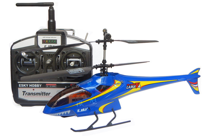 RTF 2.4GHz Radio Remote Control Helicopter, Coaxial Double Rotor, 4 Channel, RC Copter.