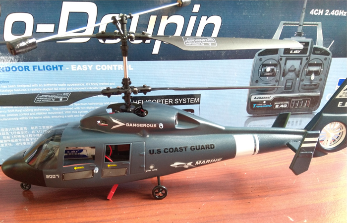 Esky CO-DOLPHIN 2 4Ghz 4 Channel RC Helicopter, For Beginners And