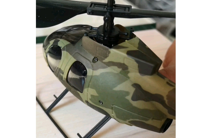 Nine Eagles Bravo III 312A, 4 Channel RC Mini Helicopter, Toy, Gift, Kids Toys, Exercise RC Helicopter.