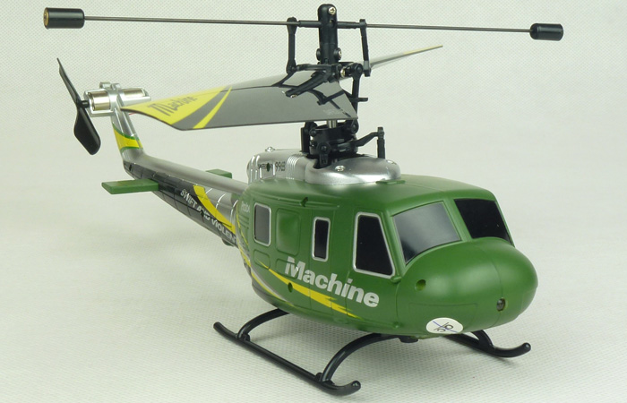 UH-1 Huey Mini RC Helicopter For Beginners And Professionals