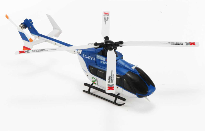 I-CABO Helicopters EC-KYU EC-145 Profession RC Helicopter, Indoor Outdoor, 6 Channel, 3D Flight Aerobatic show.