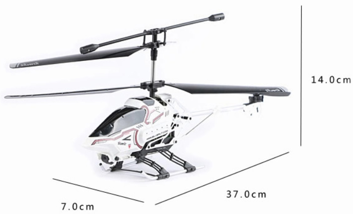 Silverlit Toys 84602 POWER IN AIR, SPECIAL FEATURES 2.4G SKY EYE OUTDOOR RC HELICOPTER.