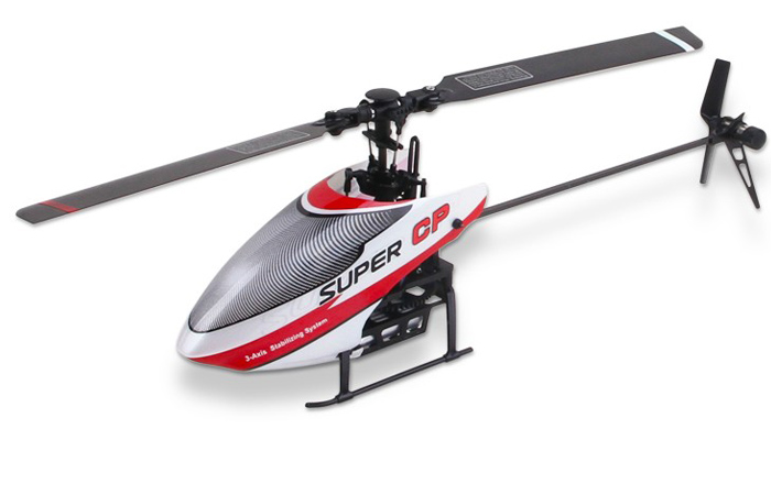 Walkera Super-CP 6 Channel 3D Mini Flybarless RC Helicopter Indoor and outdoor For Beginners.