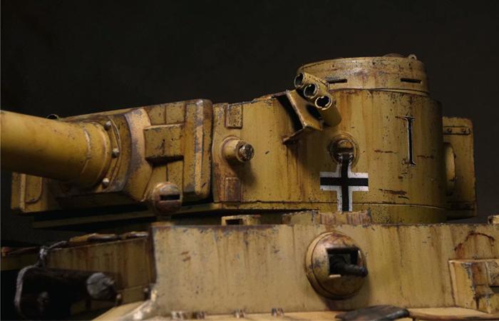 Mato Toys 1220-Y Full Metal Remote Control Tank, 1/16 Scale  Model Alloy Tiger I RC Tank.