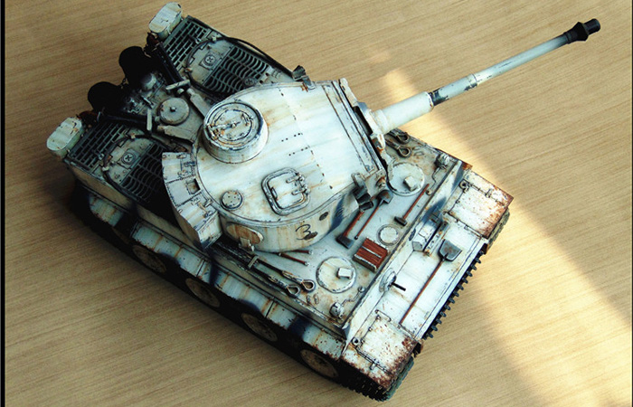 HENG-LONG Remote Control Scale Model Tank 3818 World War II Germany Tiger I Main Battle Tank.