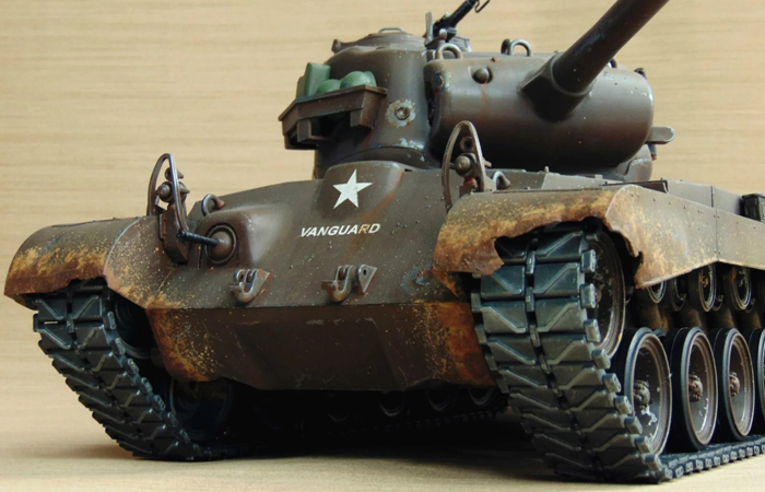 HENG-LONG Remote Control Scale Model Tank 3838 US M26 Pershing RC Tank.