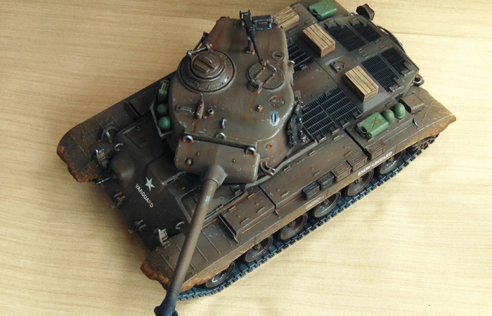 HENG-LONG Remote Control Scale Model Tank 3838 US M26 Pershing RC Tank.