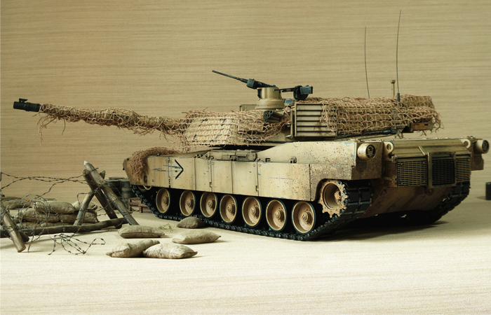 HENG-LONG Remote Control Scale Model Tank 3918 United States M1A2 ABRAMS MBT.
