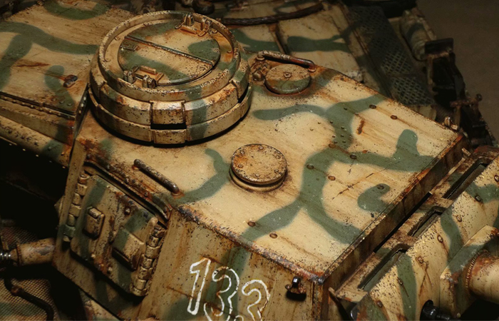 Mato Toys 1223 Full Metal Remote Control Tank, 1/16 Scale  Model Alloy Panzer III Tank.