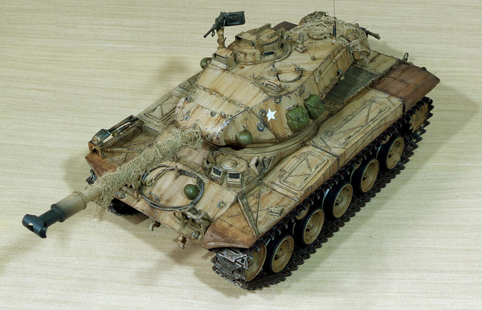 HENG-LONG Remote Control Scale Model Tank 3839 RTR USA M41A3 Walker Bulldog RC Tank .