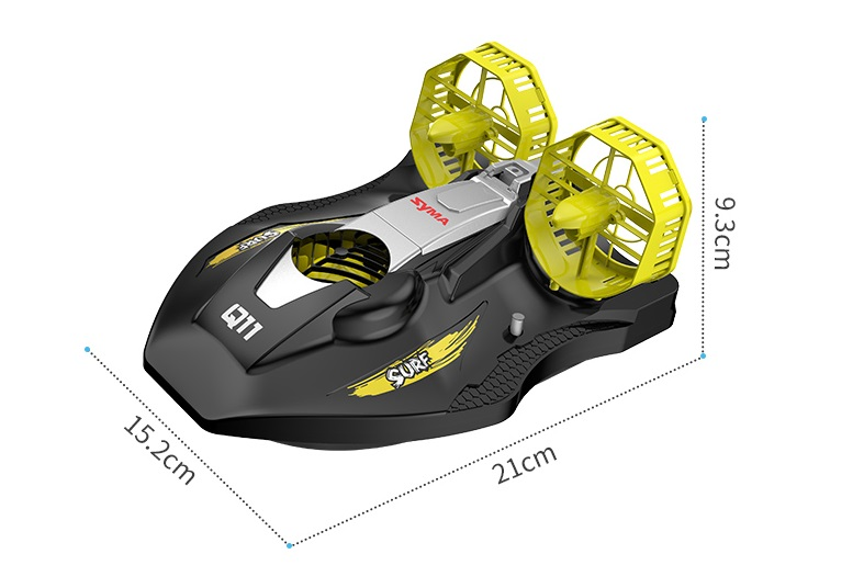Remote control hovercraft, RC hovercraft toy, Amphibious RC Boats for Land, Pools and Lakes, Swimming pool toys, Swimming toy, Amphibious toys..