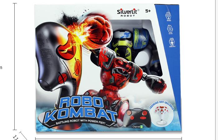 Silverlit Toys 88053 ROBO KOMBAT, Remote Control Robot Boxer RC Battle Robot Toy.