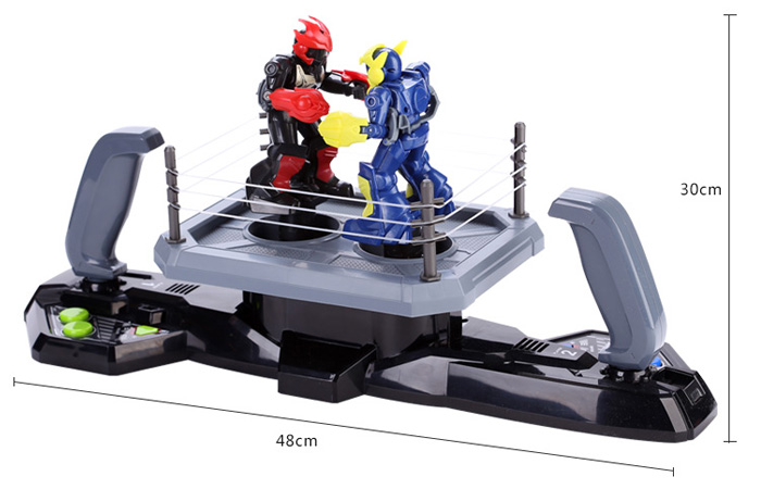 Silverlit Toys 88300 KO Robot Fighting Robot Toy, Remote Control Robot Boxer RC Battle Robot.