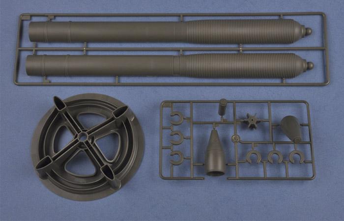 1/3 Scale Model Hobby Boss 81012 M252 Mortar Plastic Model kits.