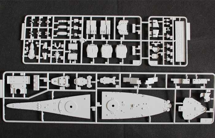 TRUMPETER Plastic Model kits 05702, 1/700 Scale US