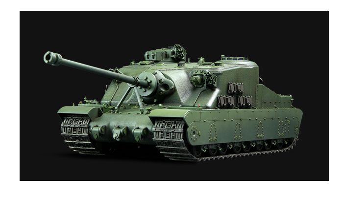 Meng-Model TS-002 1/35 Scale Plastic Model Kit BRITISH HEAVY ASSAULT TANK A39 TORTOISE Scale Model, Static Tank Model