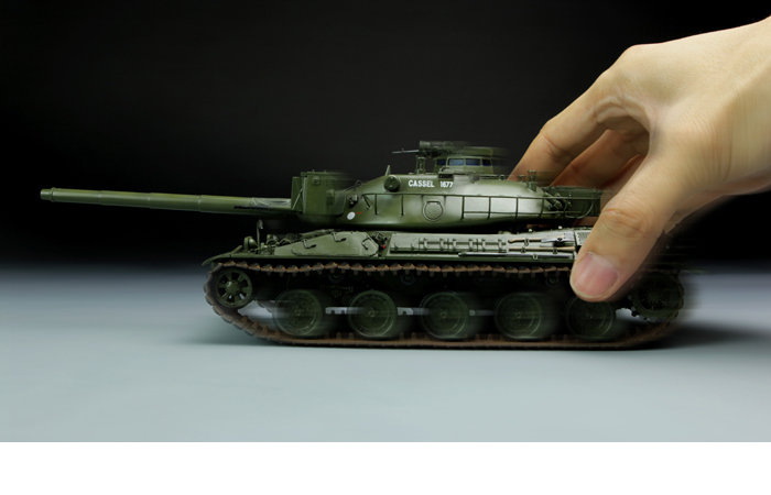 Meng-Model TS-003 1/35 Scale Plastic Model Kit FRENCH MAIN BATTLE TANK AMX-30B Scale Model, Static Tank Model