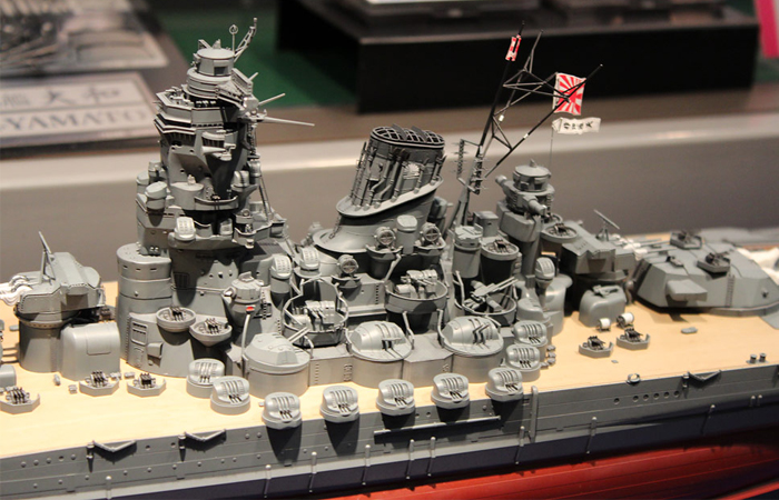 Tamiya 78025 Plastic Scale Model Kit, 1/350 Scale WWII Japanese Battleship Yamato