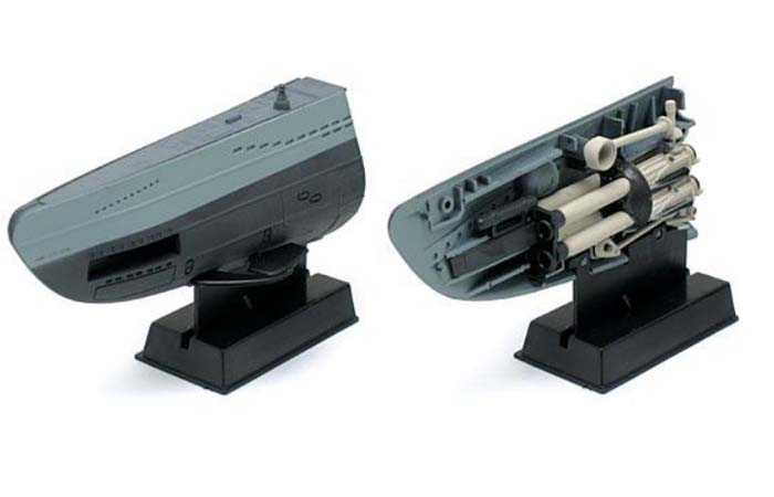 Targa Maniac Collection Scale Model, 1/144 Scale U-BOOT VII C U-96 Henrich Lehmann Willenbrock.