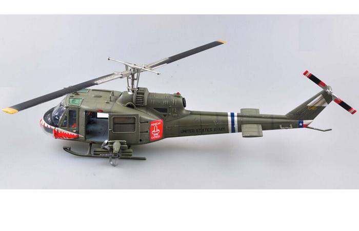 Trumpeter 60028 Scale Model, Finished Plastic Model Kit, UH-1 Huey C