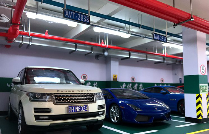 Underground Parking Lot Scene Diorama, Car Park Scale Model, Diecast Car Exhibition Stand.