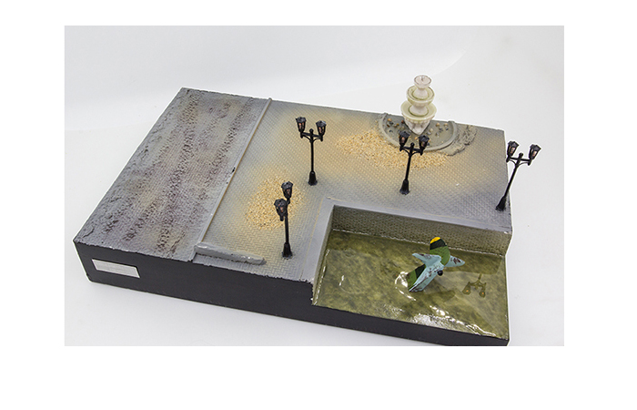 Precision Model Art PMA-P0211 WWII Malinava Counterattack Diorama, War Scenes Model Show.