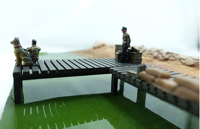 Precision Model Art PMA-P0212 WWII Malinava Counterattack Diorama, War Scenes Model Show.