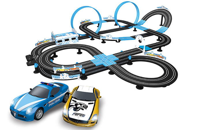 Top-Racer AGM MR-06 Slot Car Racing Sets, Remote Control Car Racing Track, Kids Toys Car Raceway.