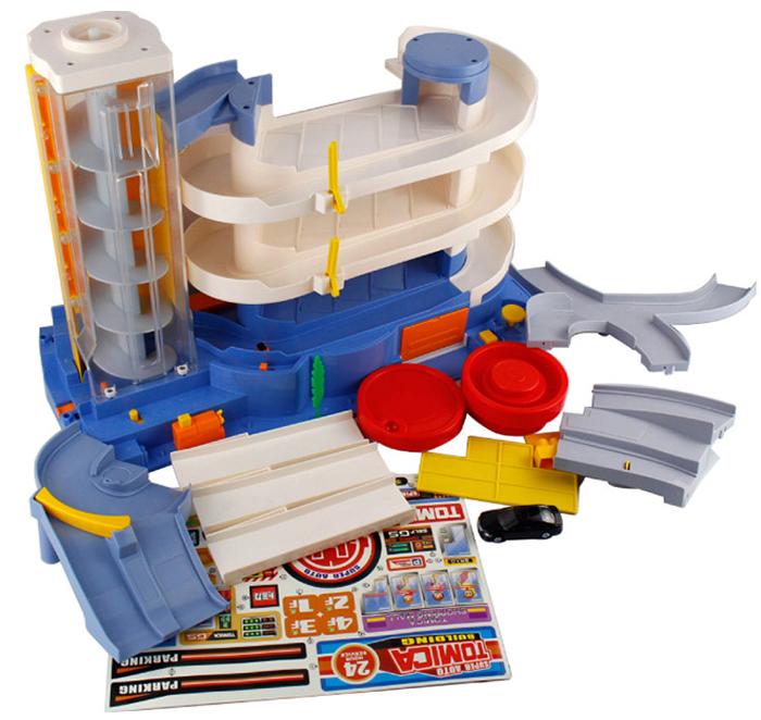 Takara Tomy, Tomica World Play-set Toys, Super Auto Tomica Building Car Playset.