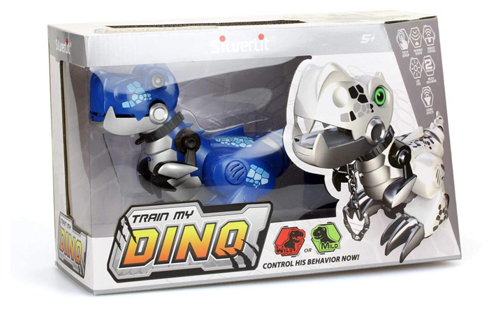 Silverlit Toys 88483 TRAIN MY DINO, Remote Control Intelligent Pet Dinosaur Kids Toy.