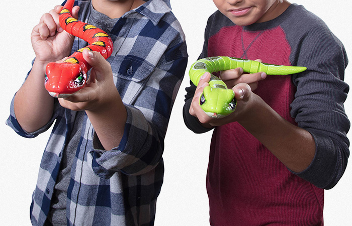 Silverlit Toy Snake, Zuru Robo Alive Real-Life Robotic Pets. Child Toy Animals.